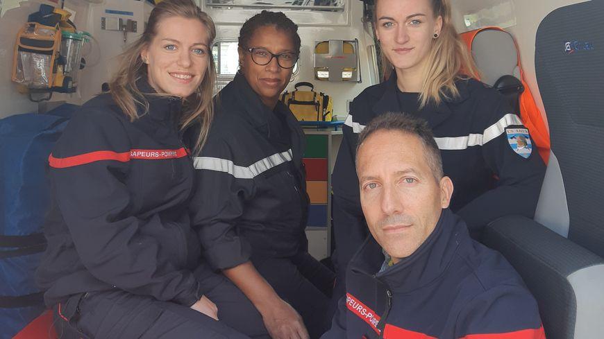Hervé Martin infirmier au centre de secours d' Ahun