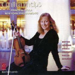 Maerchenbilder, op. 113 - contes en images op 113 : Not fast / Pour alto et piano / Integrale - Cynthia Phelps