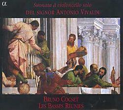 Sonate en Si bémol Maj RV 46 - 1. Preludio largo / Pour violoncelle et basse continue / 6 sonates pour violoncelle et basse continue (Paris 1740) / S - LES BASSES REUNIES