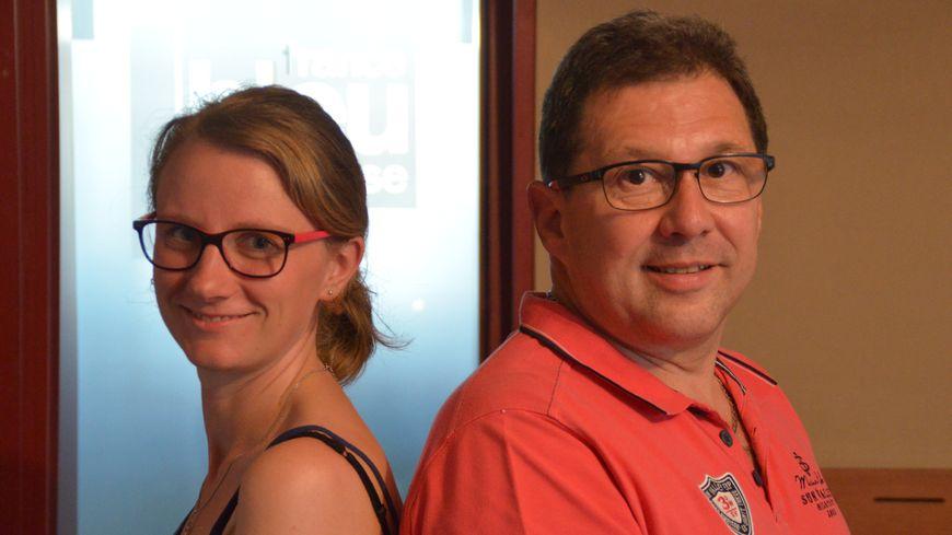 Aurélie et Pierre, le duo de Nutribleu de France Bleu Creuse