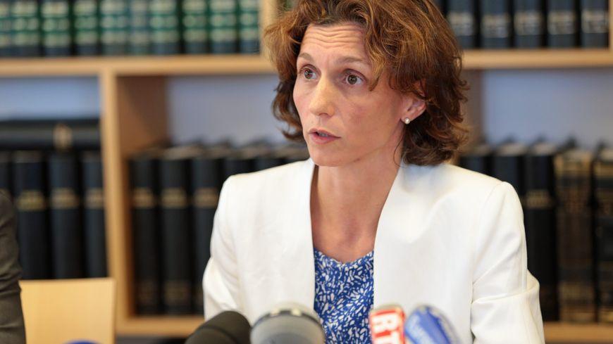 Laureline Peyrefitte, procureur de Lorient.
