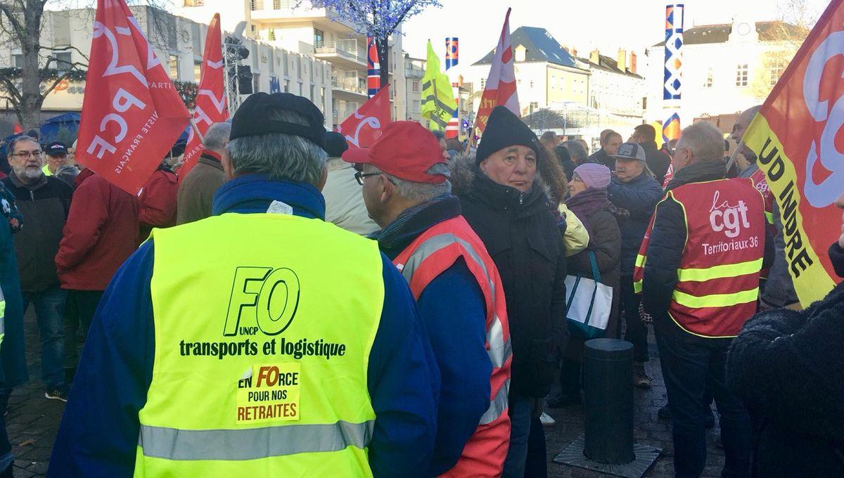 Réforme des retraites : ce qu'il faut retenir des manifestations de ce mardi dans le Berry