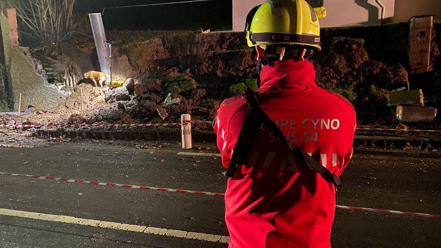 Les secours meurthe-et-mosellans sont restés près de cinq heures sur place