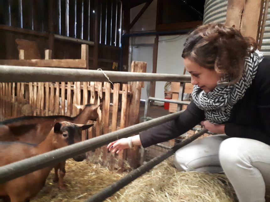 """""""Ce concours est aussi l'occasion de prouver qu'on aime nos animaux""""confie Adeline"""