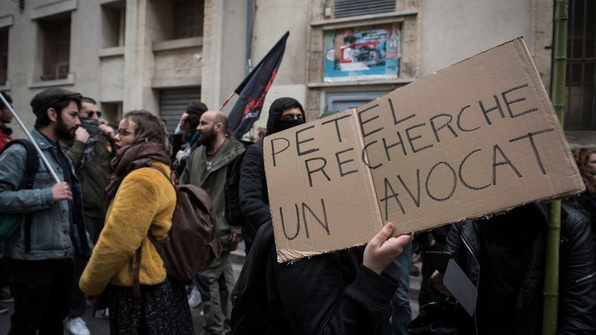 Manifestation fac de droit de Montpellier. Vendredi 30 mars 2018