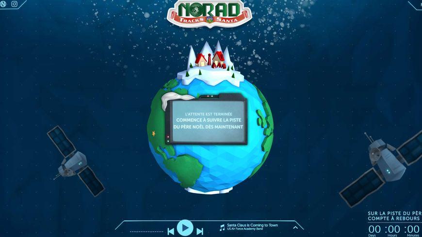 Le commandement de la défense aérospatiale de l'Amérique du Nord met tout en oeuvre pour suivre le Père Noël à la trace