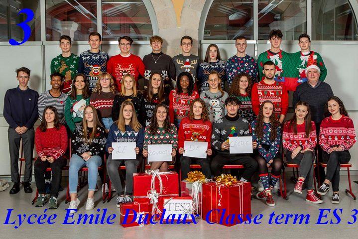 Catégorie Groupe/amis/collègues: La classe de Terminale ES 3 du Lycée Emile Duclaux d'Aurillac