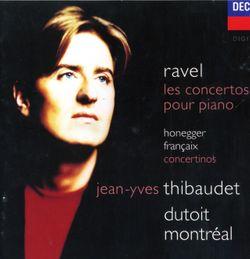 Concerto en Ré Maj pour la main gauche pour piano et orchestre :  Allegro - JEAN YVES THIBAUDET