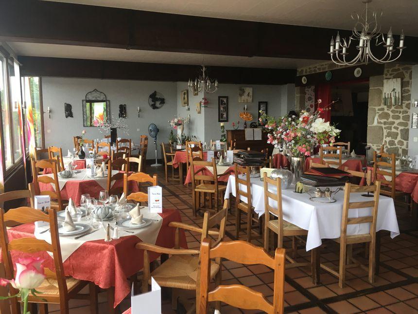 La salle de restaurant du Viaduc