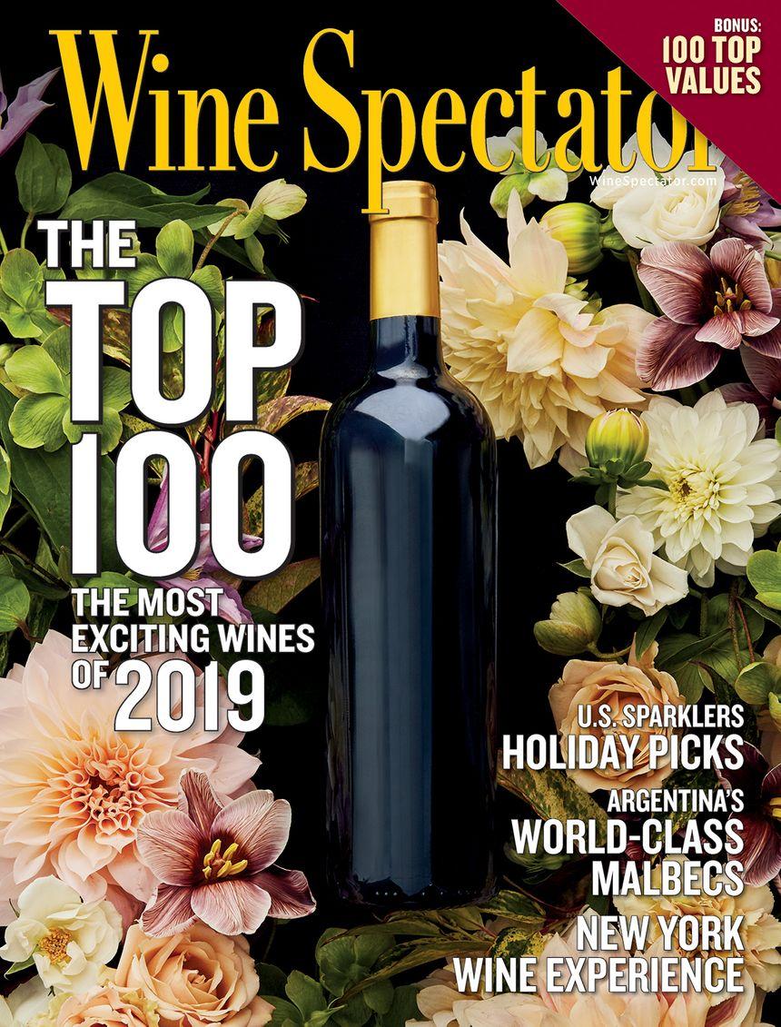 La revue américaine récompense 100 vins chaque année.