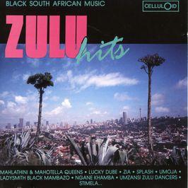 "Pochette de l'album ""Zulu hits"" par Ladysmith Black Mambazo"