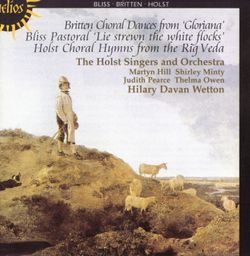 Choral hymns from the rig veda h 99 groupe 3 op 26 n°3 : Hymn to the waters / Pour choeur de femmes et harpe / Sur des textes religieux hindous - Thelma Owen