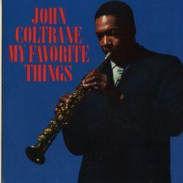 "Pochette de l'album ""My Favorite Things"" par John Coltrane"