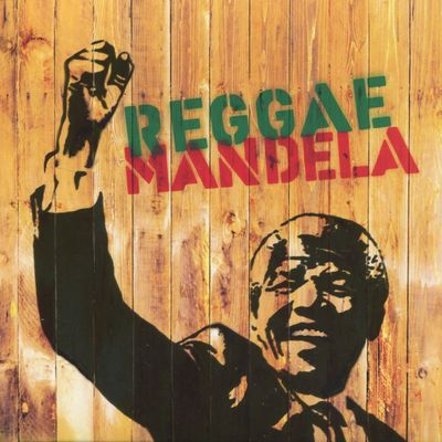 "Pochette de l'album ""Reggae Mandela"" par Charlie Chaplin"
