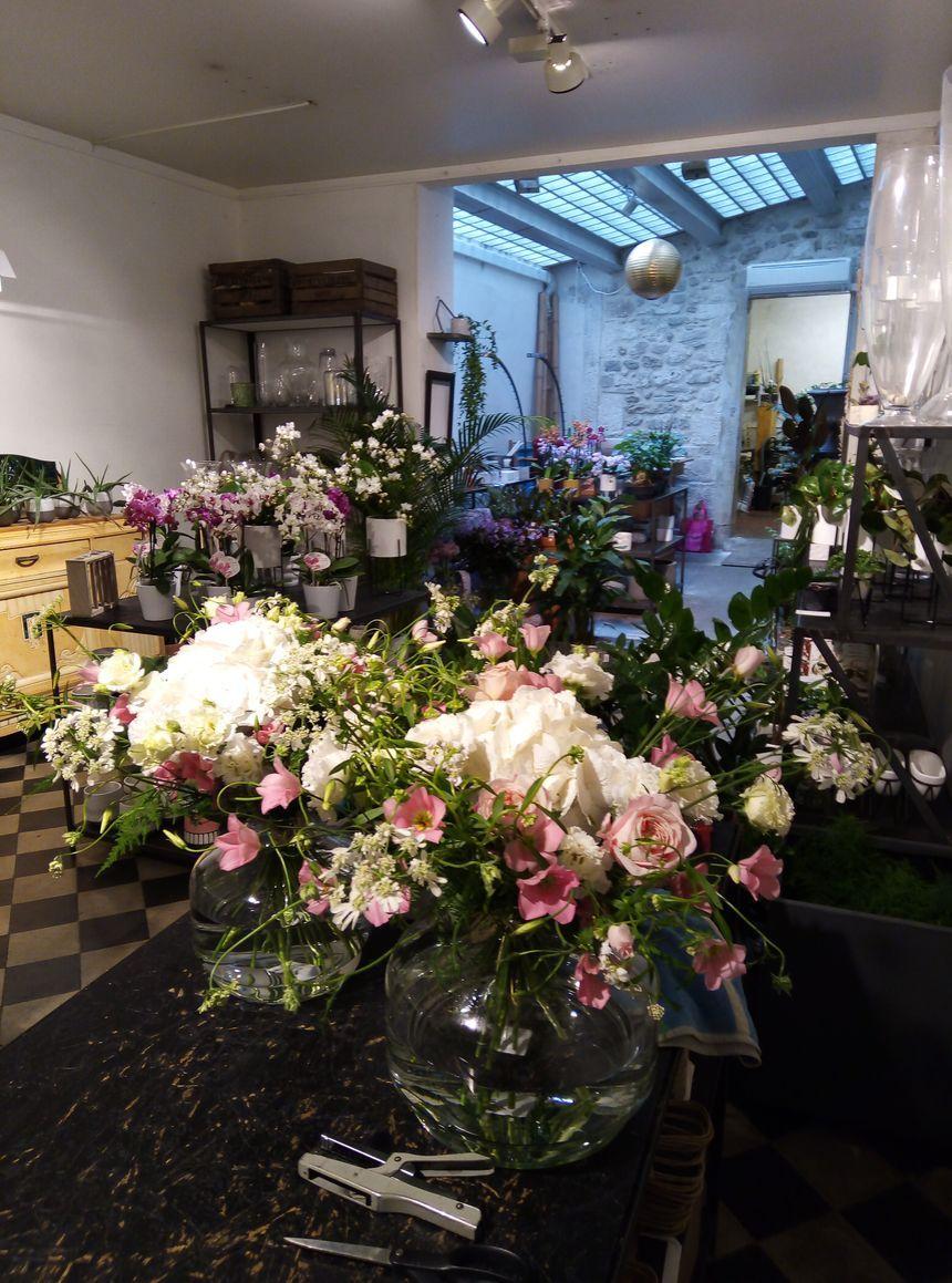 """La boutique romantique de fleurs """"à nos amours"""" à Avignon"""