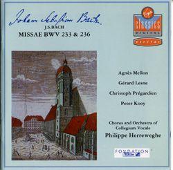 Missa brevis en Sol Maj BWV 236 : Quoniam tu solus sanctus - CHRISTOPH PREGARDIEN