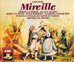 Mireille : Heureux petit berger (Acte IV 1er tableau) Cavatine de Mireille - MIRELLA FRENI