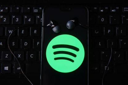 """Ecoute sur la plateforme d'écoute en ligne """"Spotify"""""""