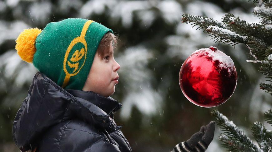 les boules de Noel,
