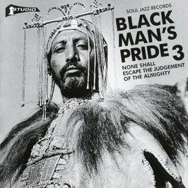 "Pochette de l'album ""Black man's pride / Vol. 3 : None shall escape the judgement of the Almighty"" par The Manchesters"
