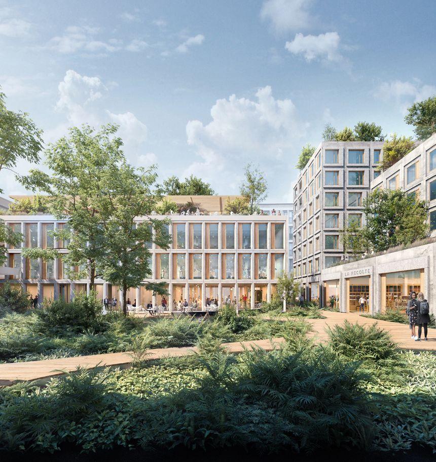 L'EM Normandie sera transformé en lieu de vie multiple avec des logements, des jardins partagés, un hôtel de luxe, une salle de sport pour les familles