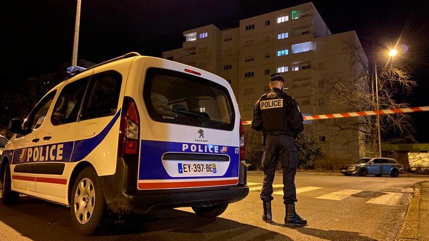 Les policiers ont mobilisé des moyens importants dans le quartier de Planoise à Besançon.