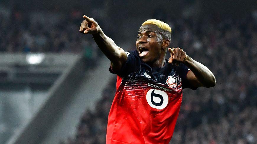 L'attaquant lillois Victor Osimhen sera dans le groupe pour aller jouer à Monaco ce samedi
