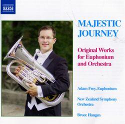 Pantomime - pour euphonium et piano / arrangement pour euphonium et orchestre - ADAM FREY