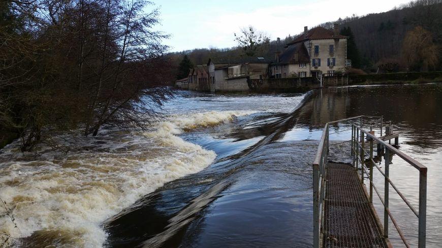 A Chambon-sur-Voueize, la Tardes a retrouvé un bon débit