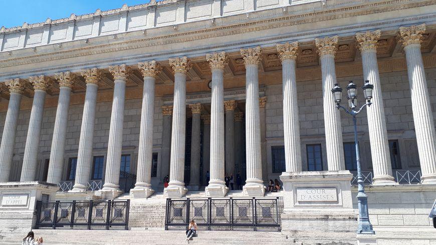 La cour d'appel de Lyon où s'est tenu le dernier procès d'Edwige Allessandri.