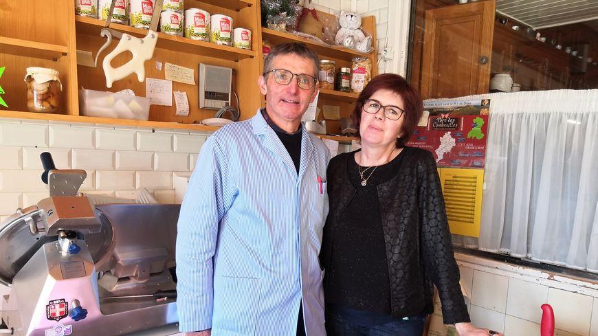 Pascal et Chantal Roche ferment boutique. Leur boucherie existait depuis plus de 80 ans, et s'était transmise sur trois générations.