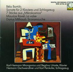 Scaramouche, suite f. 2 klaviere : Brasileira - KARL HERMANN MRONGOVIUS
