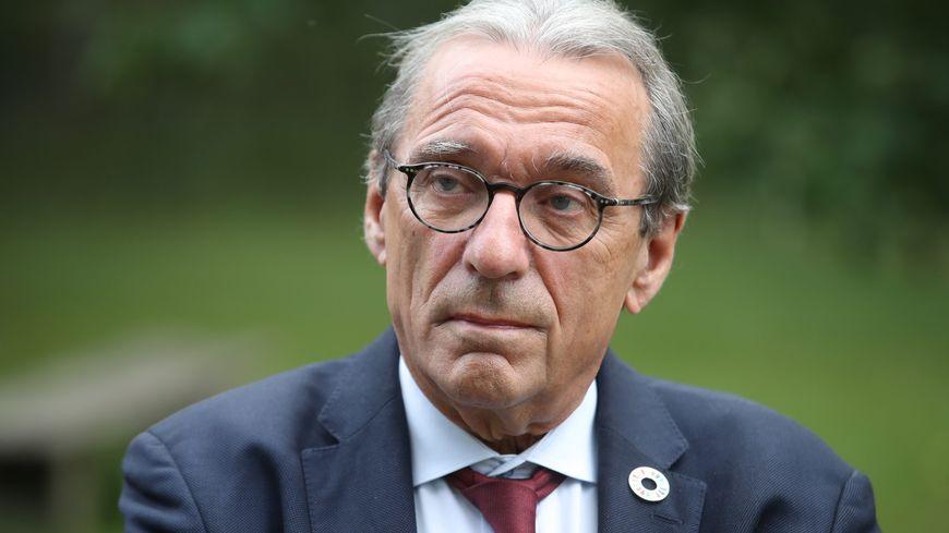 Le maire de Strasbourg, Roland Ries