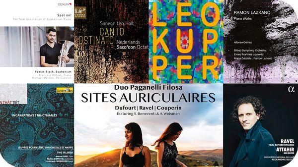 Actualité CD de la création : François Killian, Simeon Ten Holt, Ramon Lazkano, Tôn thât tiêt, Leo Kupper...