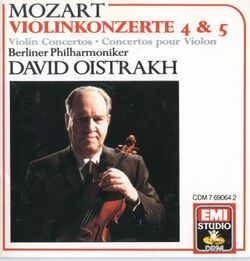 Concerto nº5 en La Maj k 219 : Adagio - DAVID OISTRAKH