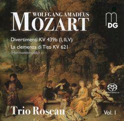 Divertimento en Si bémol Maj K 439b n°1 : 5. Rondo - arrangement pour trio d'anches - RACHEL FROST