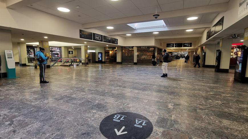 La gare Matabiau à Toulouse était désespérément vide