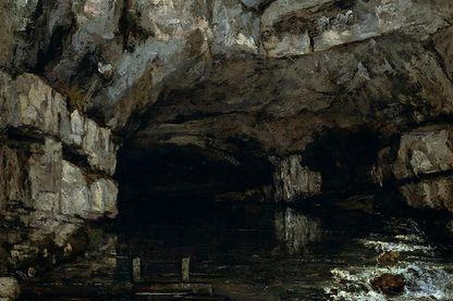 La grotte de la Loue par Gustave Courbet, 1864