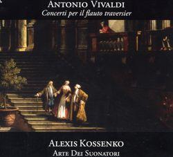 Concerto en la min RV 440 : Allegro non molto - pour flûte traversière baroque cordes et basse continue - ALEXIS KOSSENKO