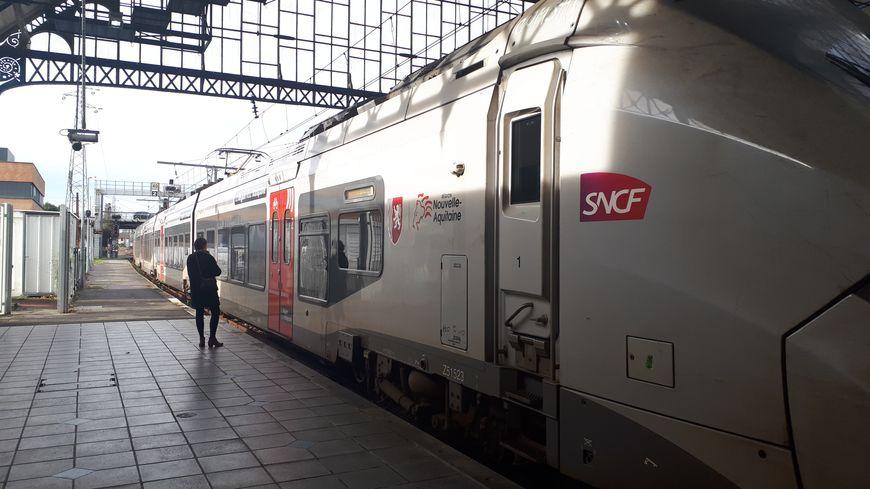 Un TER Nouvelle-Aquitaine en gare de Dax (illustration).