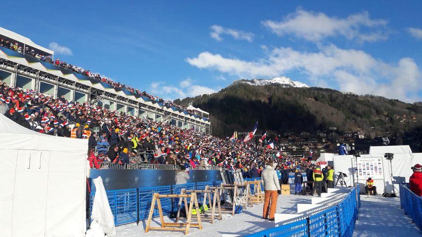 Près de 20.000 spectateurs s'étaient donné rendez-vous au Grand-Bornand ce samedi.