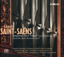 Tarentelle en la min op 6 - arrangement pour flûte traversière clarinette et orgue - ANNE FREITAG