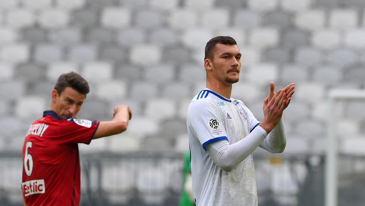 """Ludovic Ajorque, après la victoire de Strasbourg à Bordeaux : """"On a été solides et solidaires"""""""