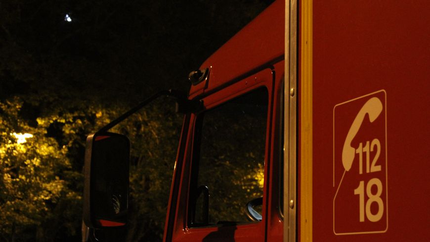 Camion de pompiers, photo d'illustration