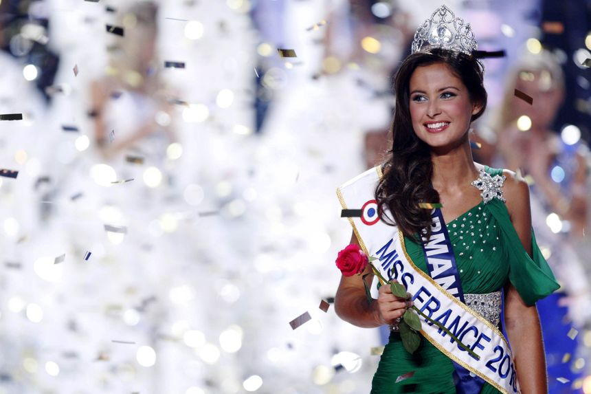 Malika Ménard, Miss Normandie élue Miss France 2010.