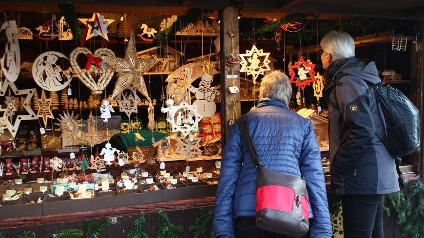Les jolis produits du marché de Noël