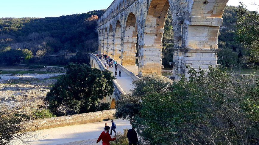 Le Pont du Gard, la destination idéale pour la balade de Noël