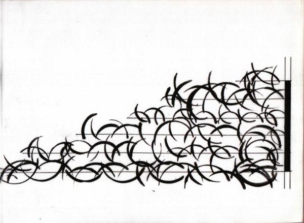 Calque de Remous pour Florian Satche, percussions