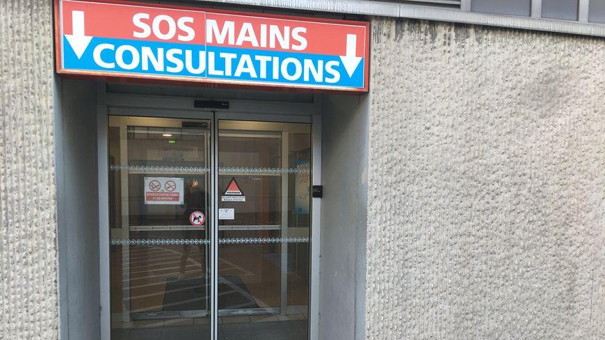 En période de fêtes, SOS Mains reçoit 5 à 6 patients en plus par jour à Nancy.
