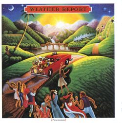 Where the moon goes - Weather Report